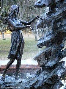 Photo by Aquariann.com Raphell Fountain Sculpture at Brookgreen Gardens
